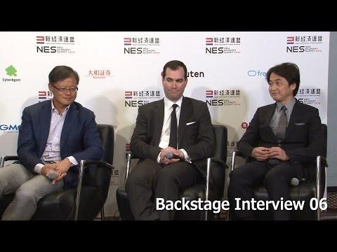 Jerry Yang, Matt Wilsey, Takeshi Natsuno, Backstage Interview 06 -NES2014-