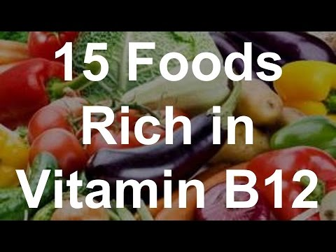15 Foods Rich In Vitamin B12 Foods With Vitamin B12