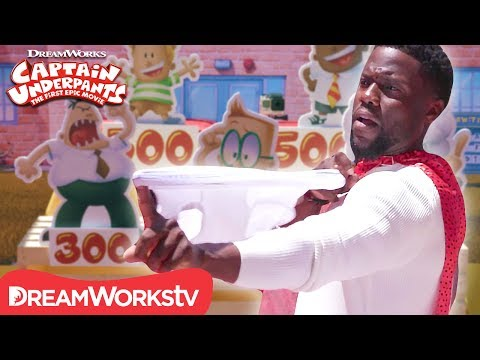 underwear-target-practice-ft.-kevin-hart-|-captain-underpants-red-carpet