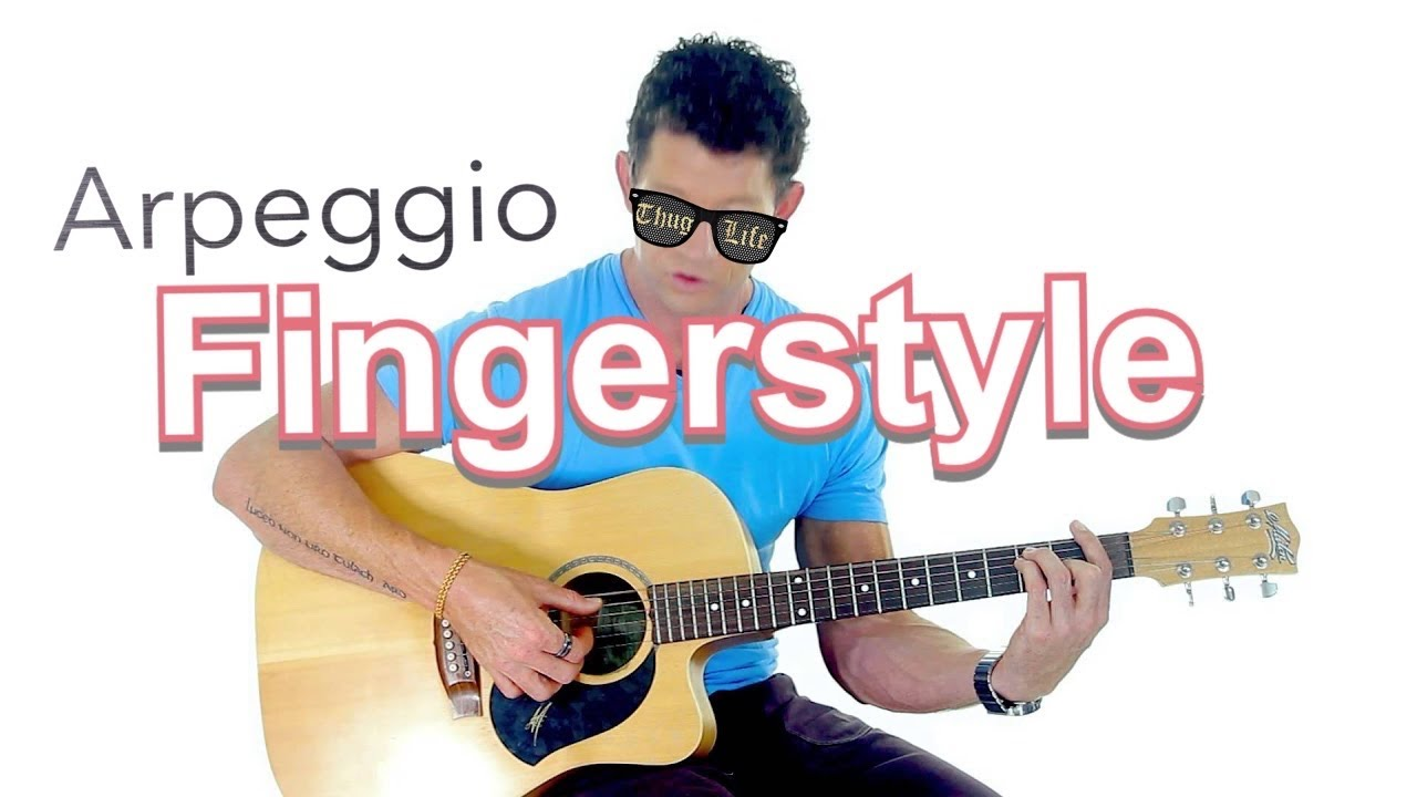 finger style guitar lesson 5 arpeggio finger picking pattern youtube. Black Bedroom Furniture Sets. Home Design Ideas
