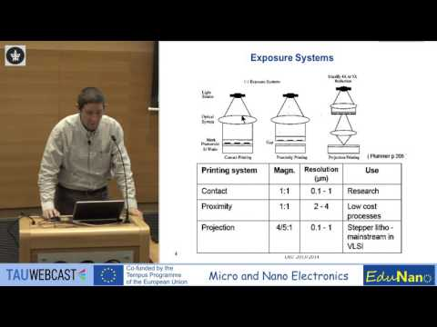 Sample lecture recording from Micro Nano Electronics course