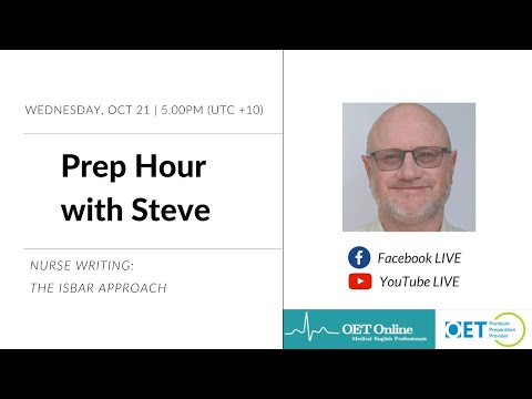 Prep Hour With Steve: Nurse Writing