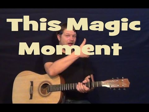 This Magic Moment (The Drifters) Guitar Lesson Easy Strum Chord Strum How to Play