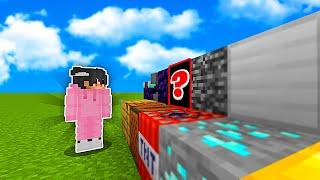 Minecraft, MUTTA Jokainen Blockki Mitä Katson Muuttuu SATUNNAISEKSI?! screenshot 4