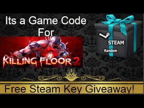 killing floor 2 code giveaway