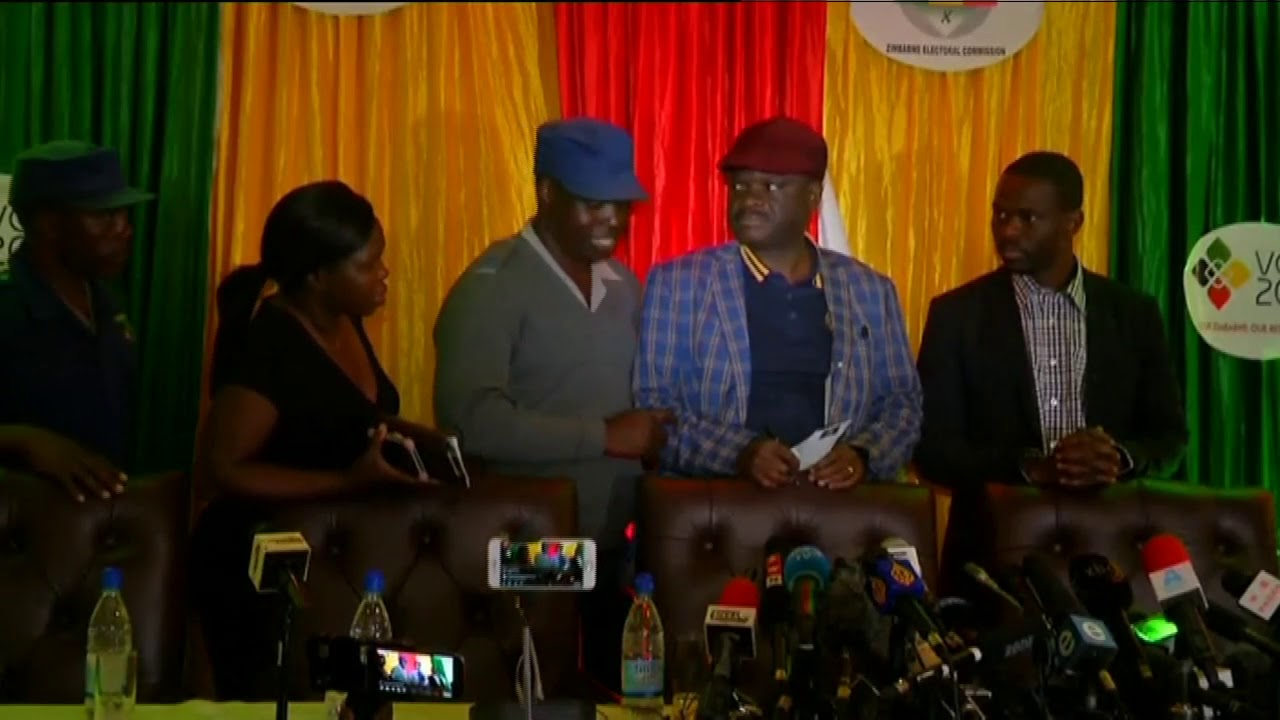 'Zimbabwe presidential results are unverified and fake' - MDC Alliance.