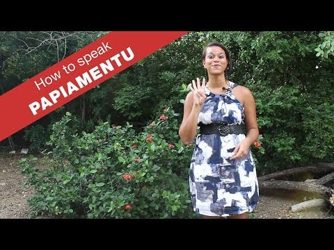 How to speak Papiamentu | Language lesson | Curacao