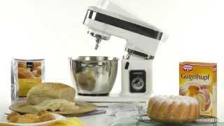 VerasuTV: นวดแป้งทำขนมเค้ก, ขนมปัง และผสมแป้งคุกกี้ได้ง่ายๆ ด้วย Stand Mixer