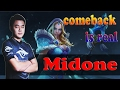 Secret Midone Crystal Maiden ! We lost GG.... No,comeback is real!