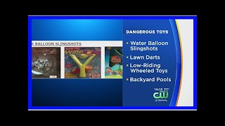 Breaking News | Consumer Group Warns Parents About Most Dangerous Summer Toys For Children