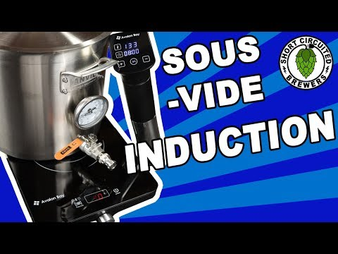 Small Batch Brewing On Avalon Bay Square Induction Cooktop (IC100 B) And Sous Vide (SVS-100)