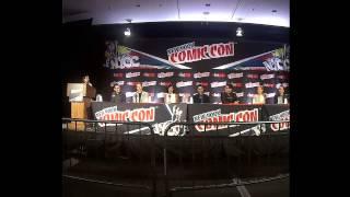 Nick Zano on Minority Report panel at New York Comic Con