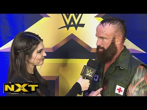 Eric Young on his shocking NXT debut: April 28, 2016