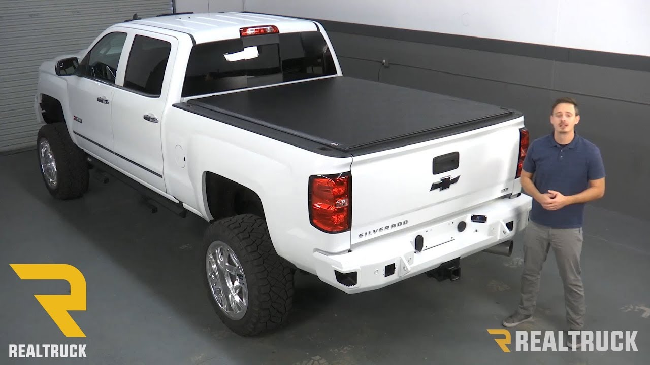 How To Install Truxedo Lo Pro Tonneau Cover On A 2017 Chevy