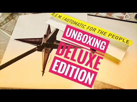 Unboxing Automatic for the People 25th Anniversary Deluxe Edition #remhq Mp3