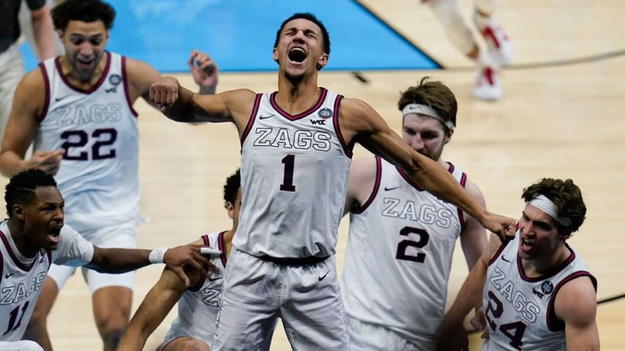 Jalen Suggs banks in buzzer-beating 3 to beat UCLA in Final Four ...