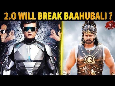 2.O WILL BREAK BAAHUBALI ?   Rajinikanth   Shankar   Lyca   Amy Jackson