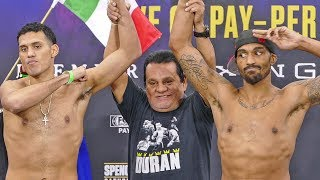 Errol Spence Jr vs. Mikey Garcia FULL UNDERCARD WEIGH IN's | FOX PBC