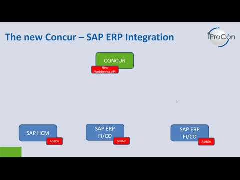 The New Concur - SAP Integration: Live Demo Financial Posting - YouTube