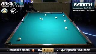 Savvidi 2018. Полуфинал: Лепшаков Дастан KGZ - Мирзаев Нодирбек UZB