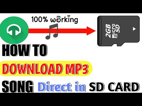 How to download mp3 song||direct in sd card || by man ke tech.