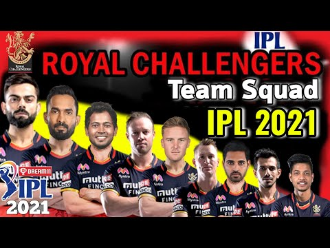 IPL 2021 Royal Chellengers Bangalore Full Squad | RCB Squad IPL 2021 | RCB Players list IPL 2021