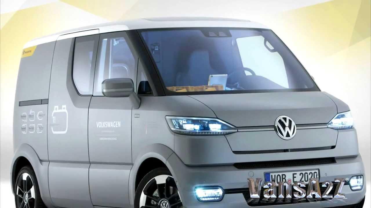 Volkswagen eT! Electric Transporter Concept 2011 - YouTube