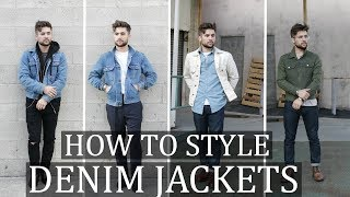 How to style the DENIM JACKETS! What to wear with DENIM JACKETS this fall!