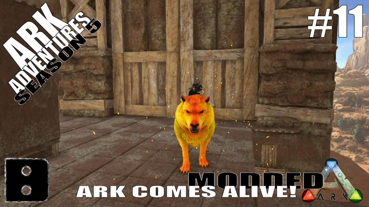 Ark adventures season 5 11 ark comes alive alpha direwolf youtube ark adventures season 5 11 ark comes alive alpha direwolf malvernweather
