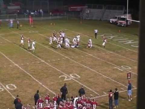 Alex Casebolt East Knox High School Football Highlights (Part1)
