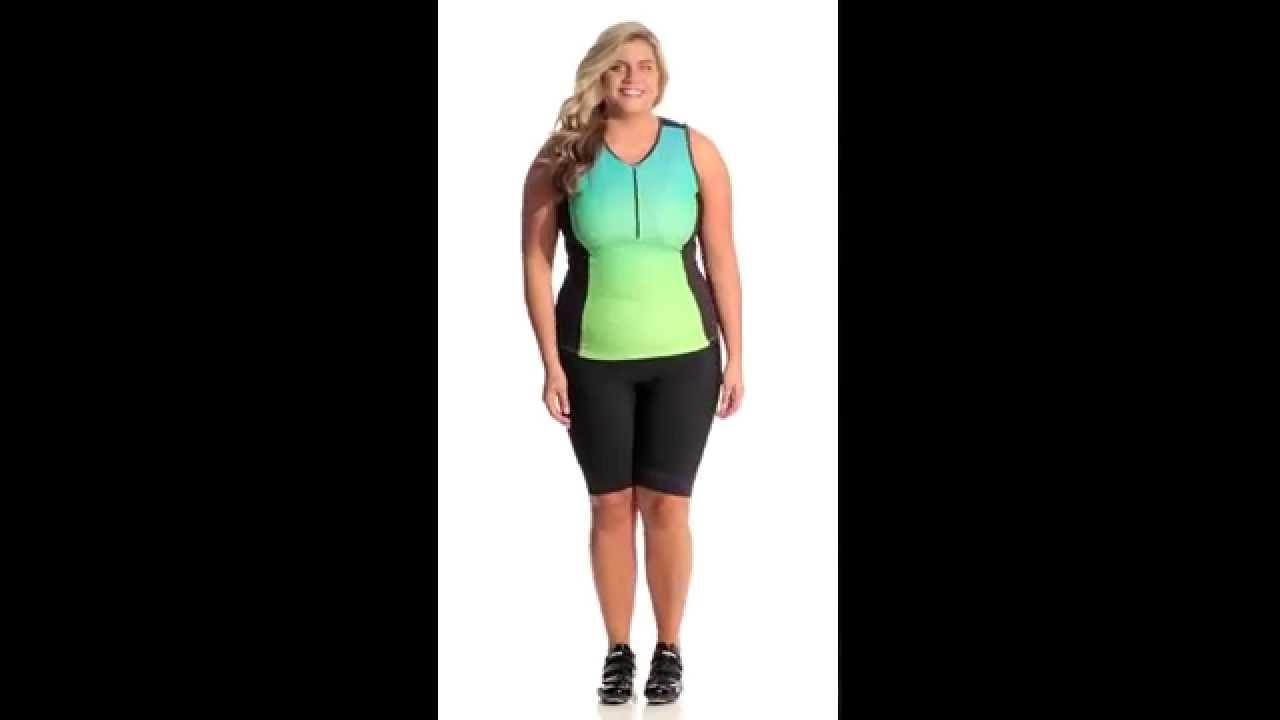 8f6fde10b36 Canari Women s Plus Size Melody Cycling Shorts