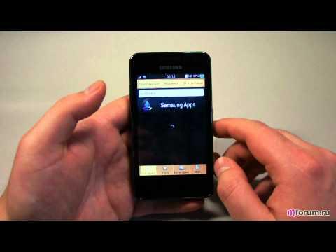 Обзор Samsung Wave M - приложения и браузер