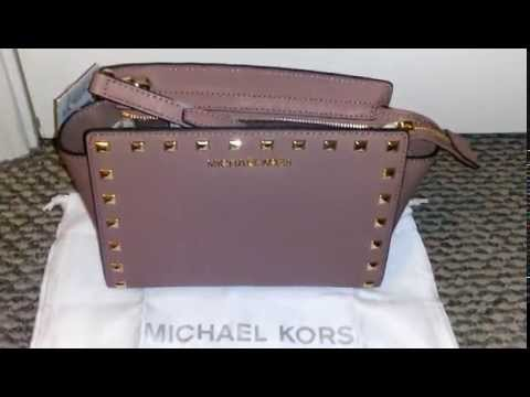 c3cd19e37a3d Michael KORS Medium Selma in Dusty Rose - YouTube