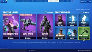 NEW SKIN NEW FORTNITE BOUTIQUE of September 02 (TODAY'S BOUTIQUE)!
