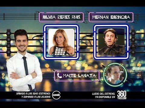 #360yvosTV: Silvia Pérez Ruíz, Maite Lanata y Hernán Espinosa