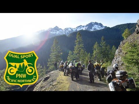 PNW Dual Sport Group Ride 01: Lake Quinalt via DIRT!