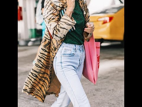 New Ways to Wear Mom Jeans in winter 2018