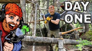 Live before the 30 day survival Challange season 2 Canadian Rockies