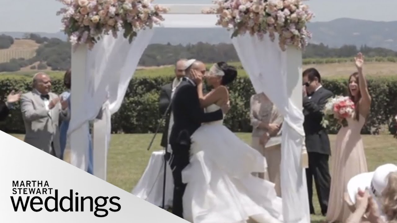 Real Weddings Youtube: Vanessa And Joe's California Real Wedding
