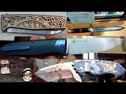 Лучшие ножи России Выставка ножей Клинок 2018 Осень Knife Exhibition Klinok 2018 Autumn