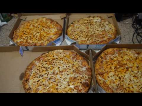 Mega record - 4 large pizzas from Domino's ordered for me only at once