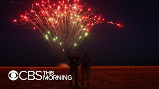Behind the scenes of Mount Rushmore's Independence Day fireworks display