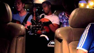 Andy Grammer Backseat Serenade featuring songs from Jessie J, Taylor Swift, The Script, Maroon 5