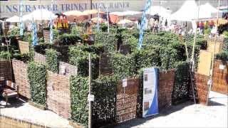 Sichtschutzlabyrinth Aus Mobilane Fertighecke® / Hecke Am Laufenden Meter®