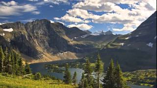 The most beautiful lakes of the world-Sweet pan flute music