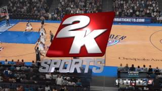 NBA 2K15 Gameplay on GTX 650Ti (1080P)