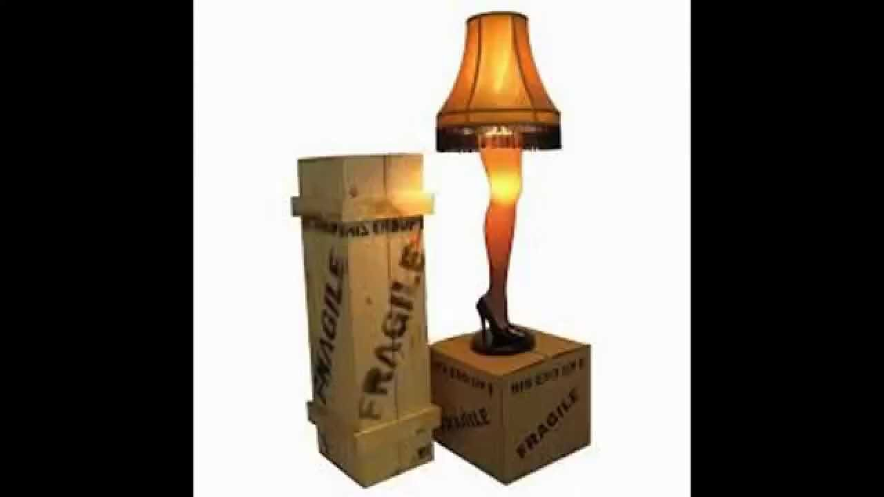 Best Floor Lamps Modern | A Christmas Story Full Size 45 Leg Lamp   YouTube