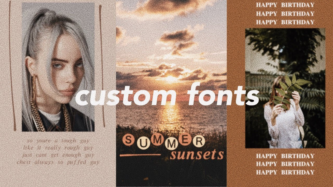 How to Add Custom Fonts to Instagram Stories Without Leaving the ...