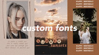 Gambar cover How to Add Custom Fonts to Instagram Stories Without Leaving the App!