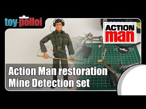 Fix it guide - Action Man Mine detection set by Palitoy